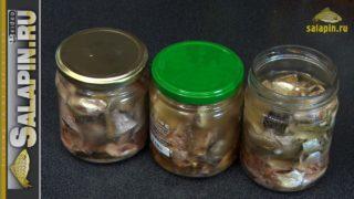 Домашние консервы из мелкой рыбы