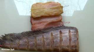 Вяленая рыба и специи