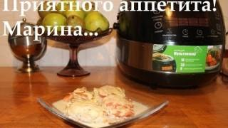 Запеченный хек с помидорами и сыром