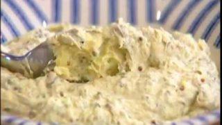 Селедочное масло с горчицей и тархуном от Юлии Высоцкой