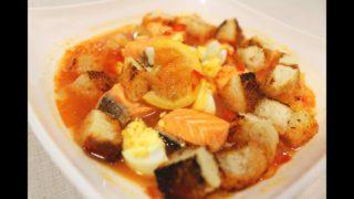 Испанский рыбный суп