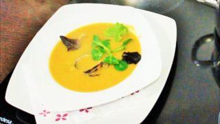 Рыбный суп с моллюсками. Испанская кухня