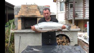 Шашлык из рыбы по-Кавказски