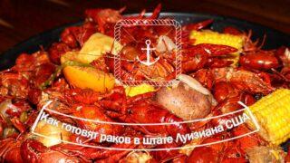 Как готовят раков в штате Луизиана, США. Это очень вкусно!