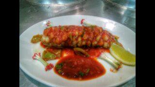 Рыба-Виноград в кисло-сладком соусе