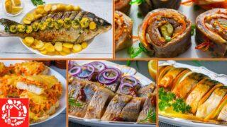 5 шикарных рецептов из рыбы на праздничный стол! Меню на Новый Год 2021
