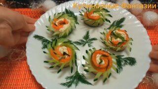 7 закусок с красной рыбой для праздничного стола!