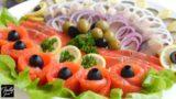 Идея рыбной нарезки на праздничный стол