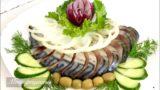 Рыбная тарелка! Несколько вариантов праздничной нарезки!